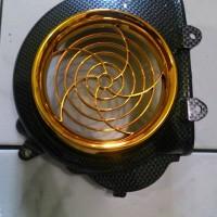 harga Cover Kipas / Tutup Kipas Beat Lama Carbon Gold Tokopedia.com