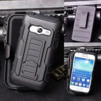 Impact Armor Cover Casing Case Belt Holster Samsung Galaxy V Ace 4 NXT