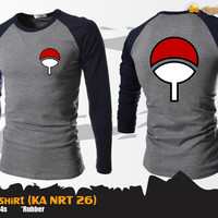 Uchiha T-Shirt (Kaos Long Sleeve Naruto KA NRT 26)