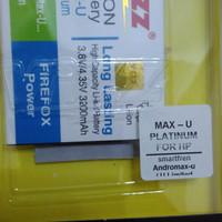 Baterai smartfren Andromax max U / limited edition bl-4-n1 dobel power