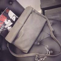 harga Tas Fashion Wanita Import - Sling Bag - M21159 Red Gray Tokopedia.com