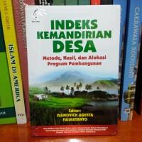 harga Indeks Kemandirian Desa: Metode,hasil, Dan Alokasi Program Pembangunan Tokopedia.com