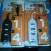 USB HUB 4 PORT KABEL 1 METER/USB KOMPUTER/FLASHDISK
