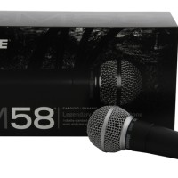 Jual Shure Mic / Microphone Kabel SM 58 Suara Vocal Murah