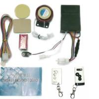 Alarm Motor MP Two Way Super - Remote Bunyi - Mp 2 Way Alarm - Putih