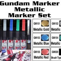 Gundam Metallic Marker Set #121