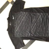 Kaos Olah Raga Nike Dry Fit Import Hitam