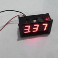 Voltmeter Digital / LED Digital Display Merah 3 digit Besar