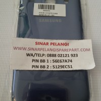 Back Cover Samsung I8260 (galaxy Core 3g)/i8262 Blue/white Ori(900243)