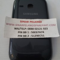 BACK COVER SAMSUNG S6310 (GALAXY YOUNG 2) BLUE, WHITE ORI (902672)