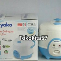 Magic Com, Rice Cooker, Penanak Nasi, Miyako, MCM606A, MCM-606A