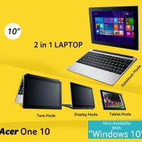 Netbook / Laptop Acer Aspire One 10-S100X - Windows 10 New Resm