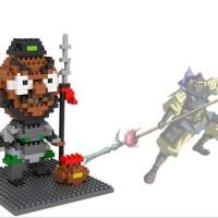 Mainan Edukatif Brick Toys LOZ Nano Block Three Kingdom Zhang Fei 9425