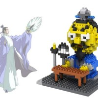 Mainan Edukatif Brick Toys LOZ Nano Block Three Kingdom Zhu Ge Liang