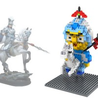 Mainan Edukatif Brick Toys LOZ Nano Block Three Kingdom Zhao Yun 9426