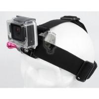 TMC Head Belt Strap and Grenade Monopod Grip Set For GoPro 3/3 + / 4 & Xm