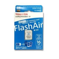 harga Memory Card Toshiba Flashair 16gb Class 10 (flash Air) - Wifi Tokopedia.com