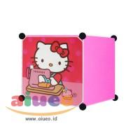 harga Lemari Pakaian Motif Hello Kitty 1 Pintu Type 1.1 Tokopedia.com