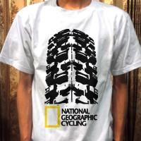 harga Kaos Sepeda Natgeo Cycling Putih (mtb, Roadbike, Fixie, Downhill, Bmx) Tokopedia.com
