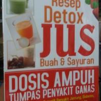 resep detok jus buah dan sayur