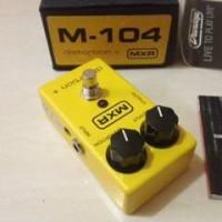 harga Mxr Distortion + M104 Guitar Effect Pedal Tokopedia.com