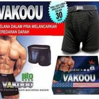Jual Vakoou/vakau/vakou ( celana dalam kesehatan pria dengan infrared ) Murah
