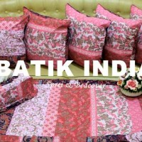 Sarung Bantal Kursi | Taplak Meja | Batik India | Sarung Tissue