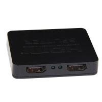 1 X 2 Hdmi Share Sharing Splitter 1 Port Input To 2 Out Led…