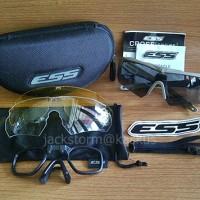 Kacamata ESS Crossbow Rep. Black/Tan