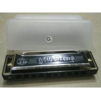 harmonica / harmonika merk goldencup nada G