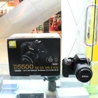 Nikon D5500 Kit 18-55 VR (Resmi : PT Alta Nikindo)