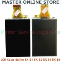 New LCD Display Screen Kamera Casio Exilim EX-Z1 Z2 S5 S6 No Backlight