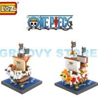 Lego Nano Block Loz One Piece Ship Paket