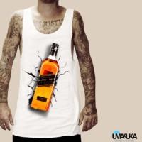 Kaos 3D Umakuka - Black Label Model Singlet