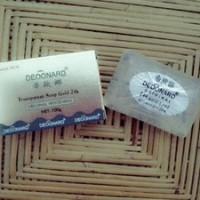 Jual murah sabun deoonard gold 24k soap pemutih kulit wajah Murah