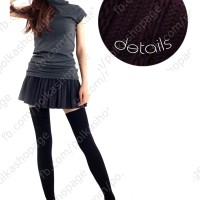 HIGH QUALITY Thigh Socks Hitam / Tight / Kaus Sepaha Cosplay Jepang