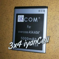 Baterai/battery Evercoss A5a (cross A5a) 3800mah