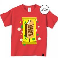 Baju Anak Afrakids Af070 - Dont Forget Do'a - Red  Sz.M,L