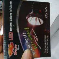harga senter kepala dony KC169(8watt) Tokopedia.com
