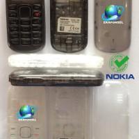 Nokia N1280 N103 Casing Fullset Transparan + Tulangan