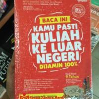 harga Jurus Pasti Kuliah Ke Luar Negeri (jkln) + Dvd Original Tokopedia.com