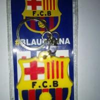 Gantungan Kunci Karet Barcelona
