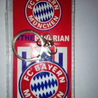 Gantungan Kunci Karet Bayern Munchen
