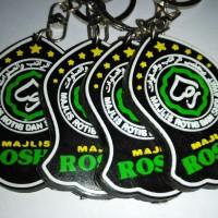 Gantungan Kunci Karet Rosho