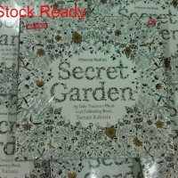 Secret Garden: Taman Rahasia Coloring Book for Adults