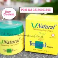 V Natural Day Cream Temulawak BPOM Original