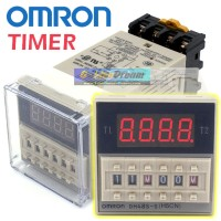 Omron DH48S-S Digital Timer Precision Delay Time Relay Twin Counter