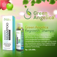 Cara Mencegah Rambut Rontok Shampoo Green Angelica