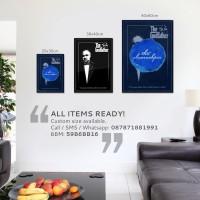 harga Poster Minimalis: The Godfather [30x40cm] Tokopedia.com