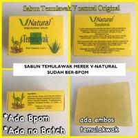 V Natural Whitening Soap Temulawak / Sabun Temulaw